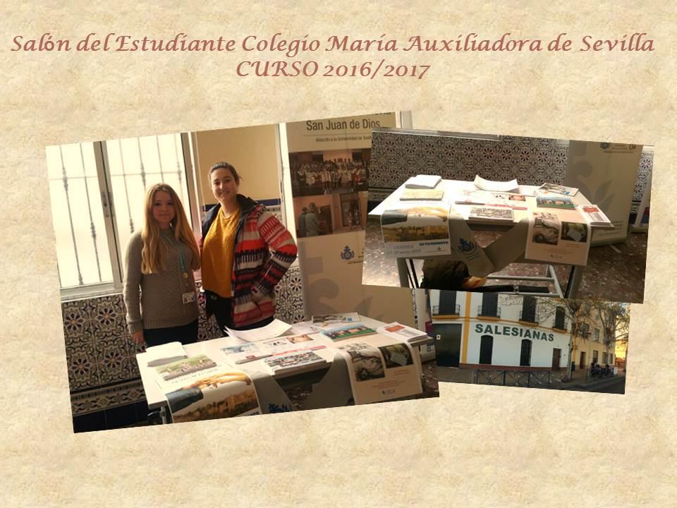 Salón Del Estudiante Colegio María Auxiliadora De Sevilla Curso
